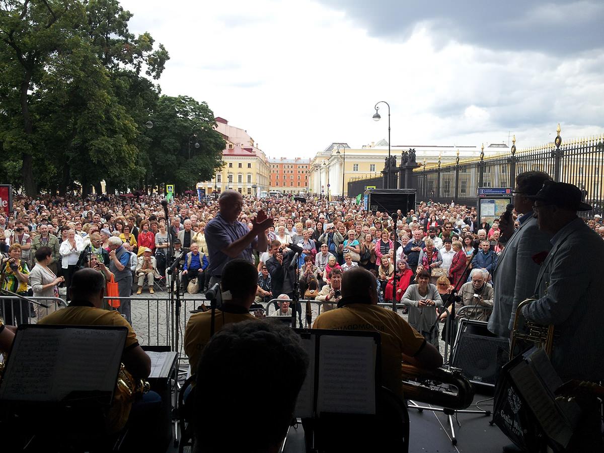 Джазовые события - фестиваль Свинг белой ночи в Санкт-Петербурге
