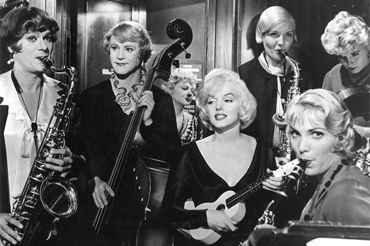 Лучшие джазовые фильмы В джазе только девушки