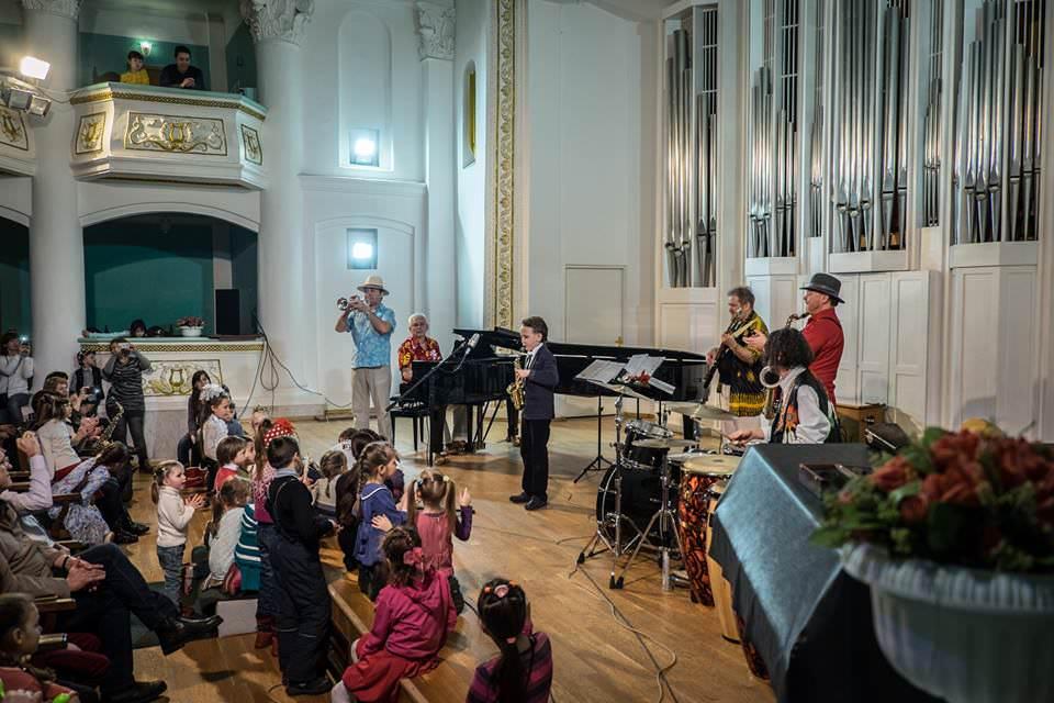 Олег Киреев детские концерты 2 JazzPeople