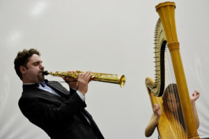 «Джаз на крыше»: программа «Арфа и Джаз» в Манеже