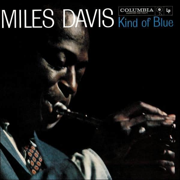 Самые продаваемые джазовые альбомы (Kind of Blue - Miles Davis)