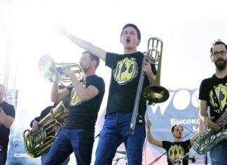 Brevis Brass band на фестивале «Настроение»