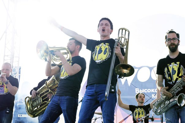 Brevis Brass band на фестивале «Настроение»