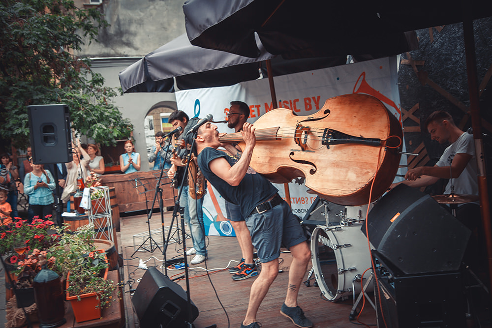 Проект «Уличная музыка» на Alfa Jazz Fest 2016