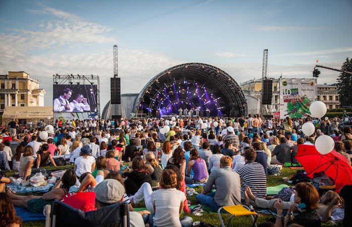 Впервые фестиваль «Усадьба Jazz» в Сочи