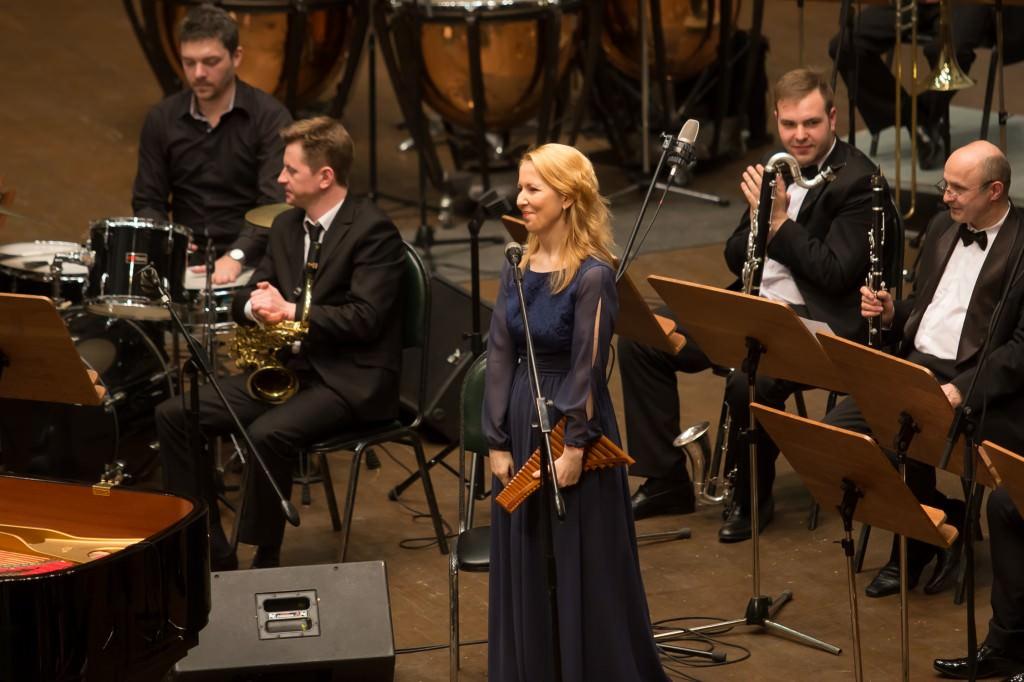флейтистка Далила Сернатеску Dalila Cernatescu Symphonic Jazz Project