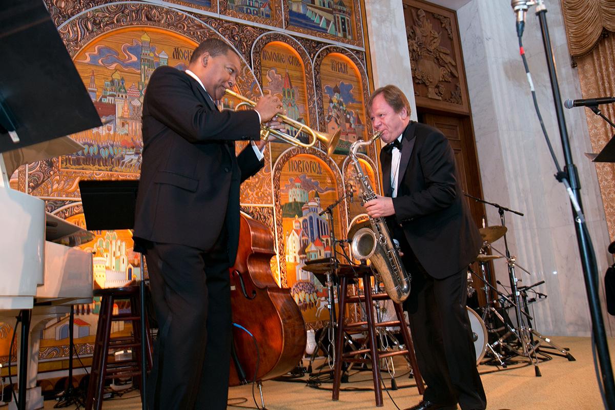 Игорь Бутман и Уинтон Марсалис в Линкольн-центре | JazzPeople