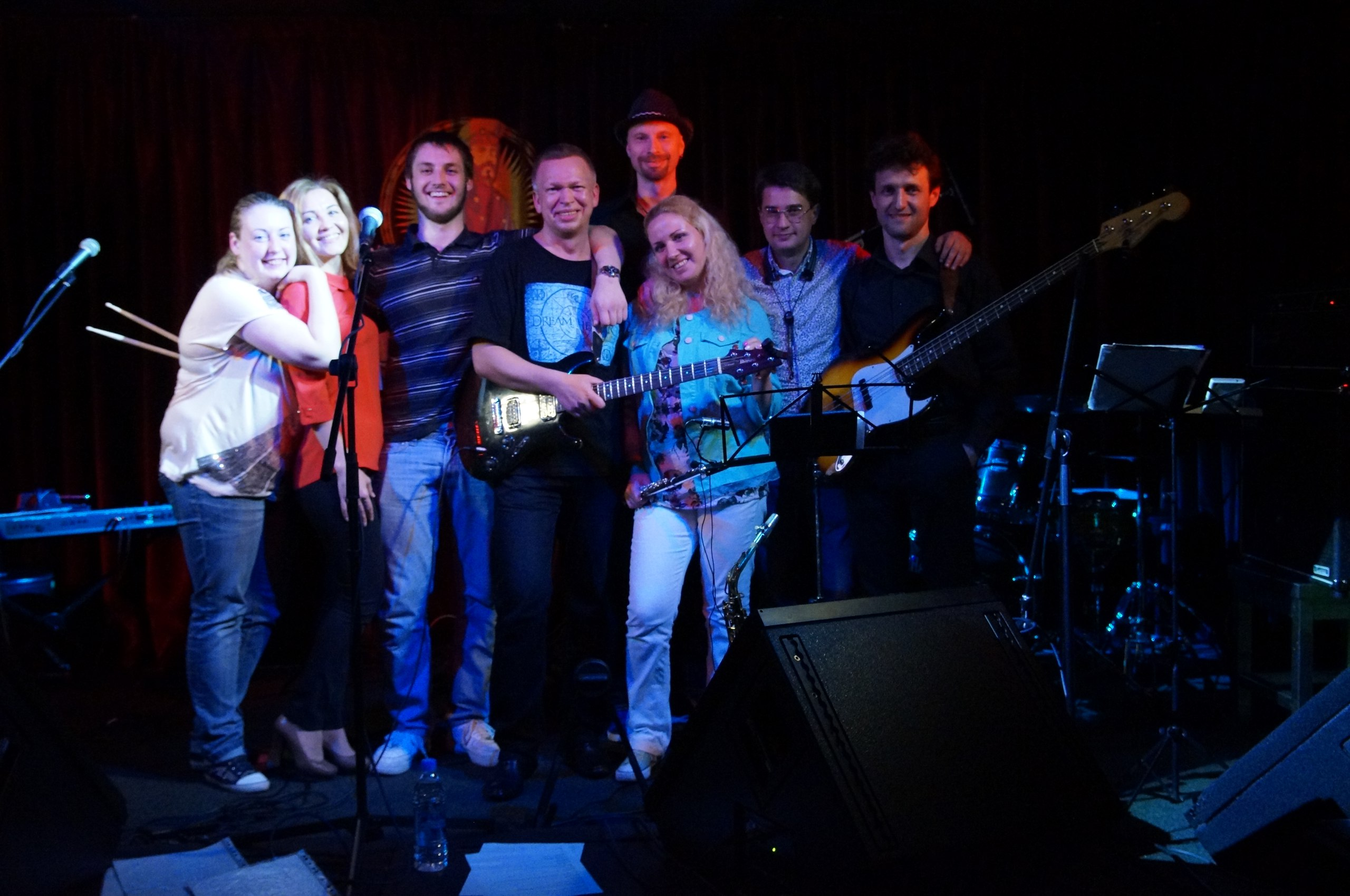 Праздничный концерт «Лёха Охтинский Project band» в честь Дня рождения солиста