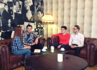 Not Jazz Band Интервью для горосдкого портала JazzPeople в тайм-клубе Commode
