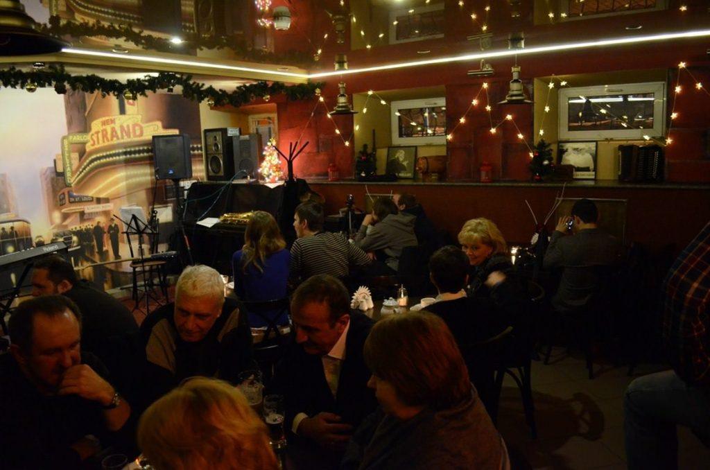 Джаз-клубы Петербурга Красный Лис JazzPeople