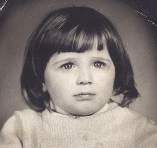 Нино Катамадзе в детстве