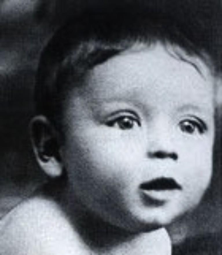 Синатра в младенчестве