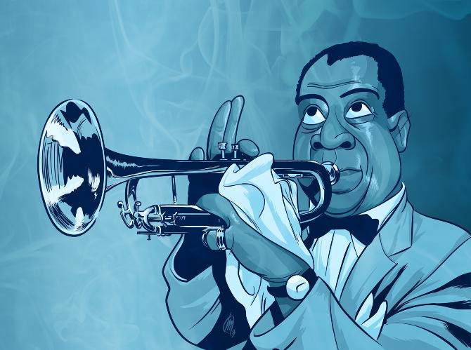 5 джазовых музыкантов, изменивших жанр импровизации - Луи Армстронг