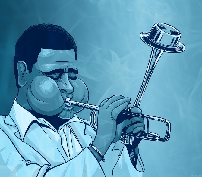 5 джазовых музыкантов, изменивших жанр импровизации - Диззи Гиллеспи