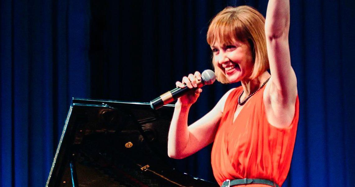 Джазовая певица Анна Бутурлина