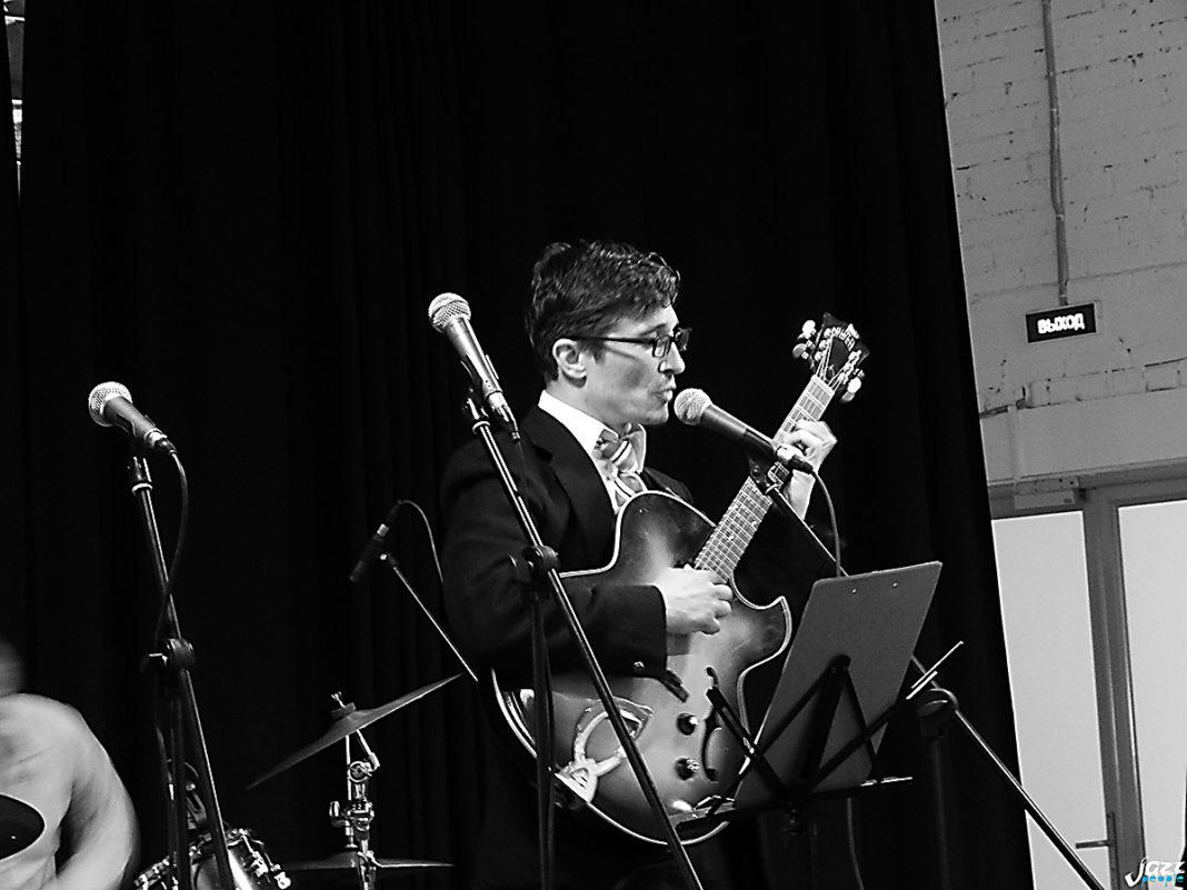 Илья Луштак на фестивале джазового мужского вокала JazzMan