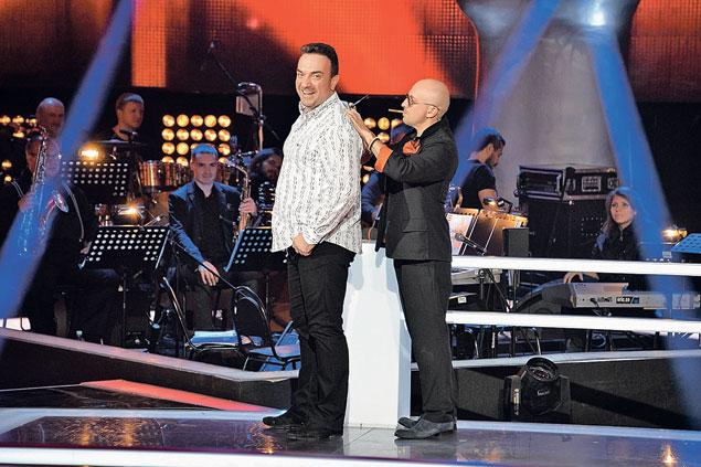 Сергей Жилин и Дмитрий Нагиев