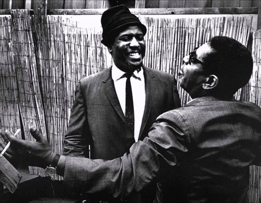 Телониус Монк (Thelonious Monk) и Диззи Гиллеспи (Dizzy Gillespie)