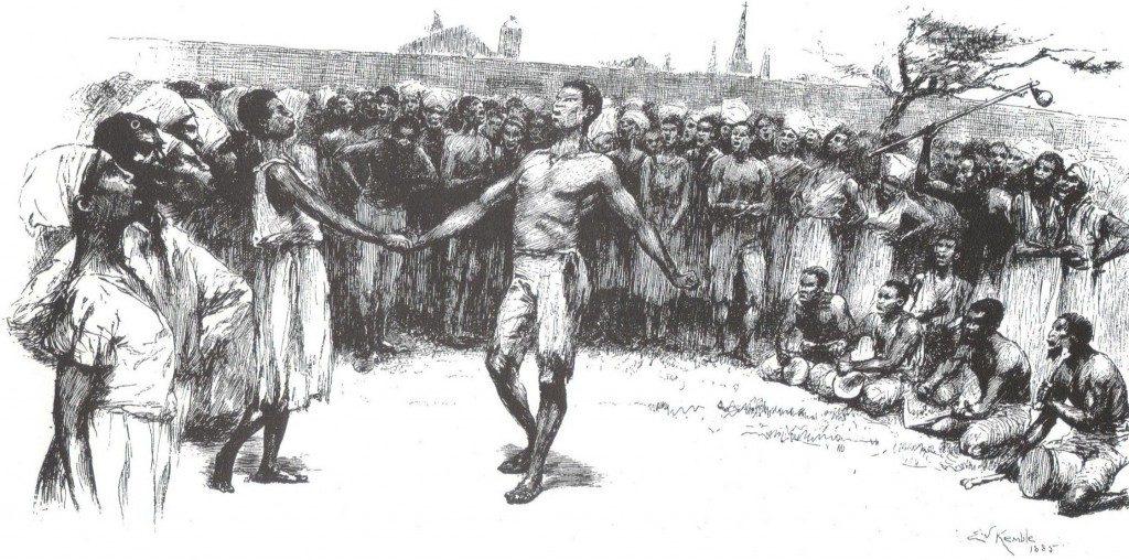 ритуальные племенные обряды в Дагомее