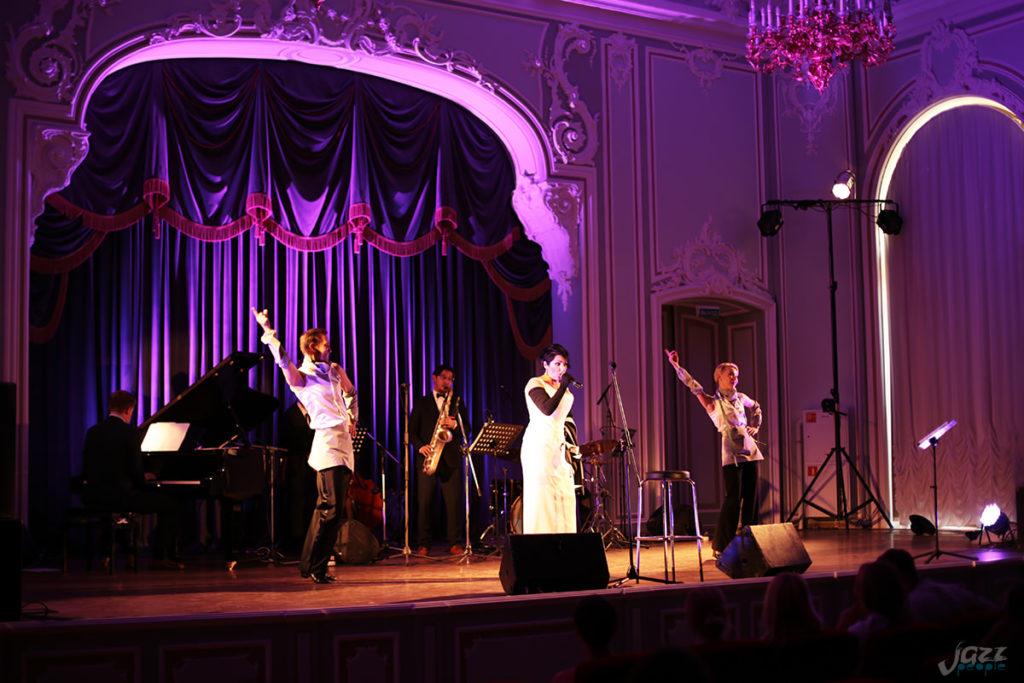 Петербургские вечера джаза - Яна Радион и танцевальный дуэт Crystal
