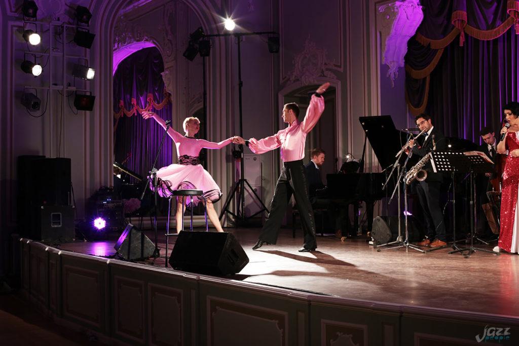 Петербургские вечера джаза - танцевальный дуэт Crystal