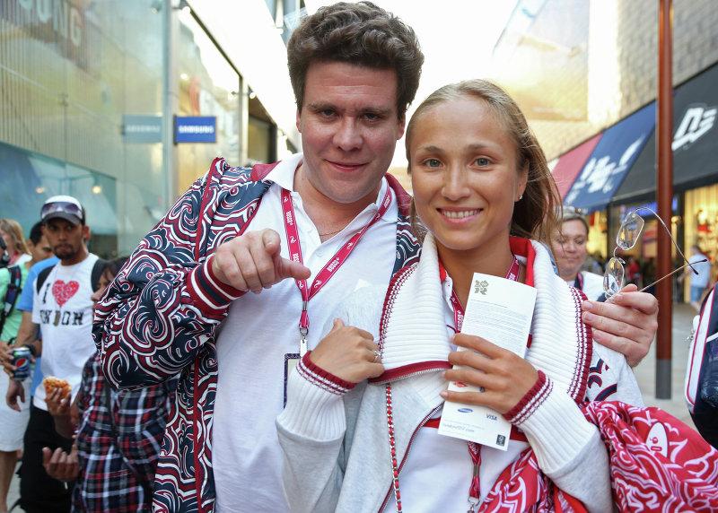 Денис Мацуев с женой Екатериной Шипулиной