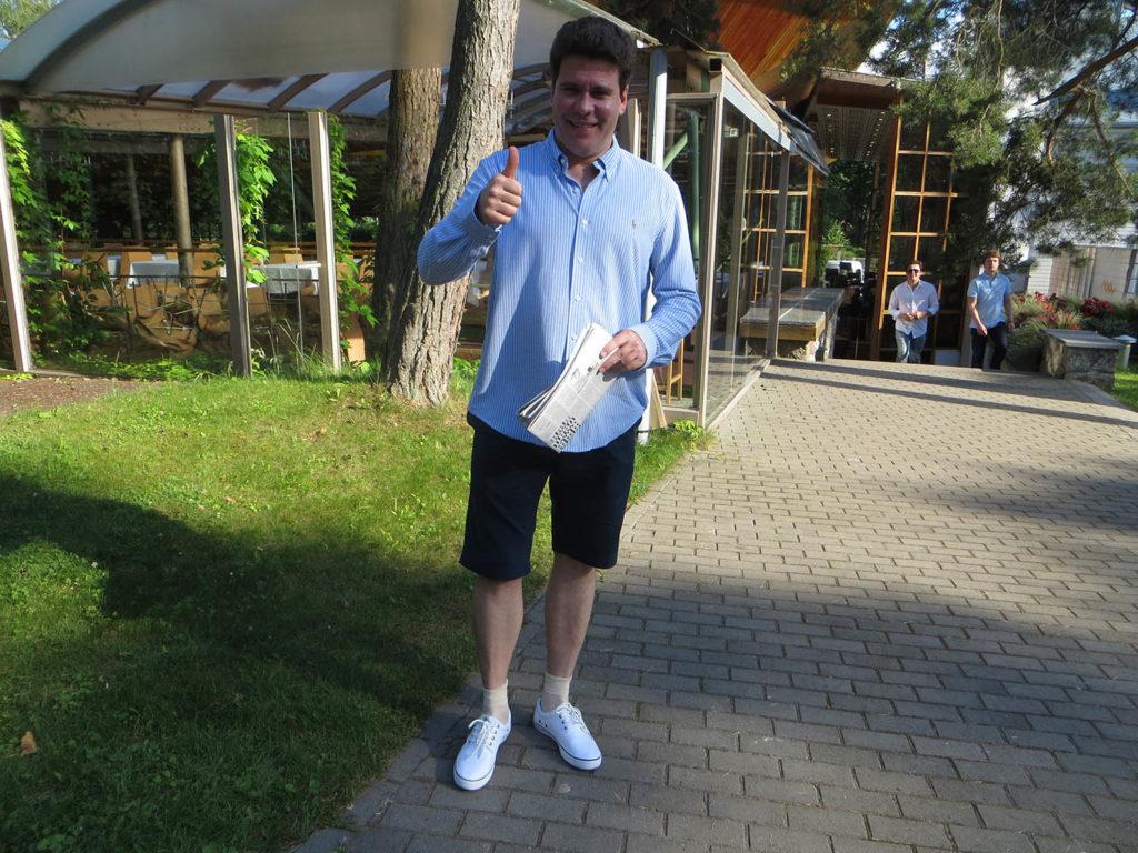 Денис Мацуев за городом