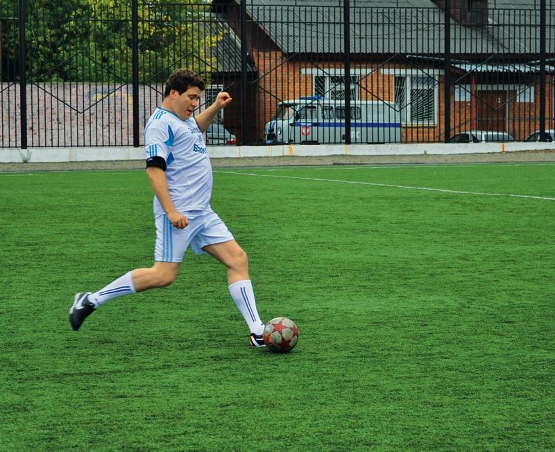 Денис Мацуев сохранил любовь к футболу с детства