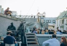 Voyage Sax Quartet на крыше МАРСа