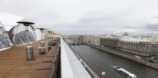 Группа Maria Majazz на крыше Лениздата