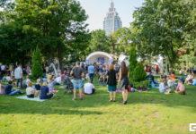 Большой репортаж с фестиваля «Джаз в саду Эрмитаж» 2018