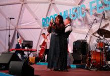 Дениз Кинг и квартет Виталия Головнева в Roof Place - Репортаж JazzPeople
