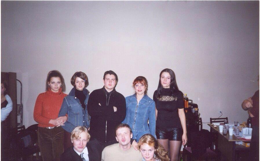 Будущая джазовая певица Марина Волкова в юности