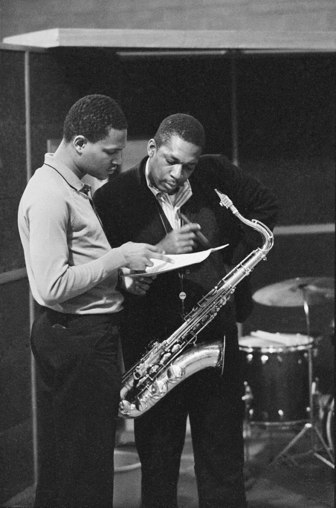 McCoy Tyner and John Coltrane
