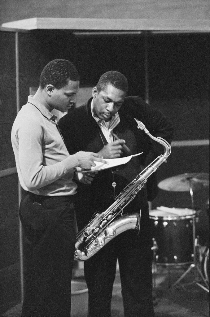 McCoy Tyner and John Coltrane