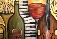 Концерт-лекция об интересных героях джаза за бокалом вина в кругу картин Винсента Ван Гога в винном ресторане Wine Gogh