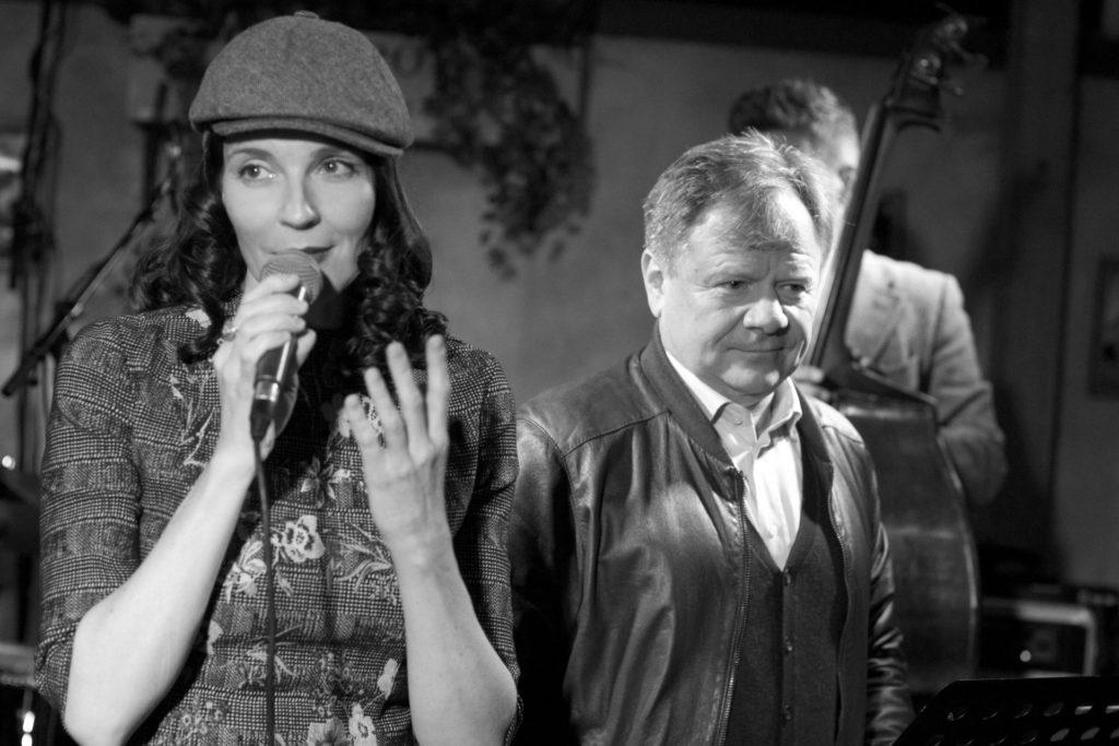 Мария Тарасевич и Игорь Бутман