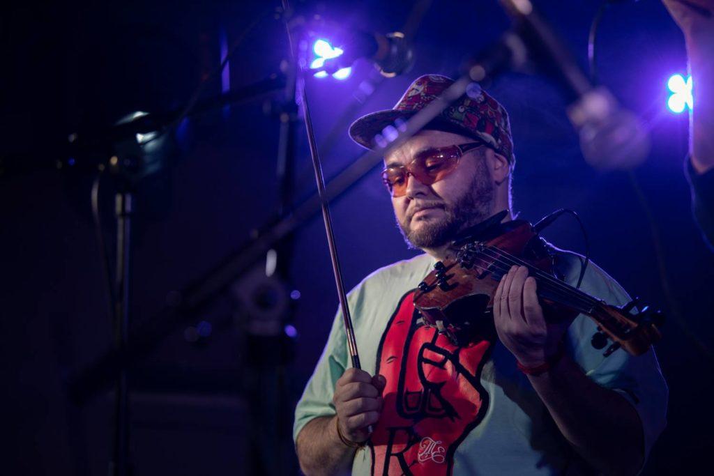 Феликс Лахути, джазовый скрипач