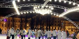 Радио JAZZ 89.1 FM открывает в саду «Эрмитаж» самый романтичный каток Москвы