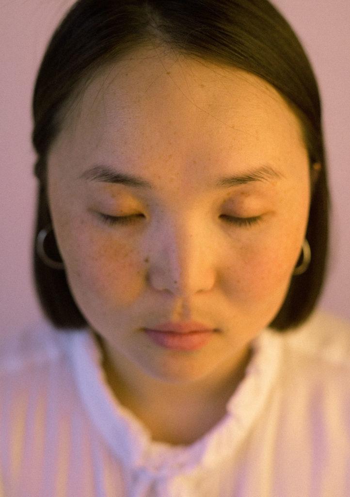 Монгольская джазовая певица Энджи (Enji)