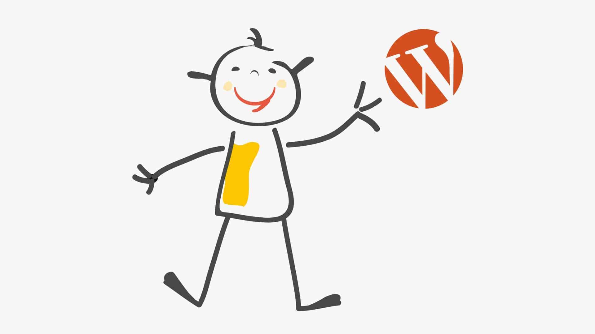 snuffelen aan WordPress