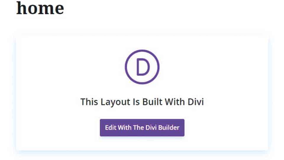 homepage-divi-na-Gutenberg