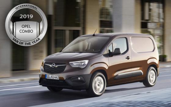 Opel Combo - International Van of the Year 2018
