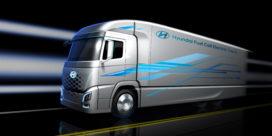 Hyundai komt in 2019 met waterstofvrachtwagen