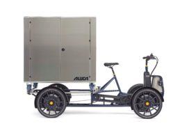 Met je e-cargo bike zo door de stad heen zoeven