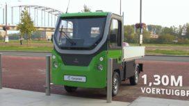 Elektrische mini-truck van Nederlandse bodem