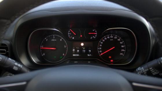 Dashboard nieuwe Opel Combo