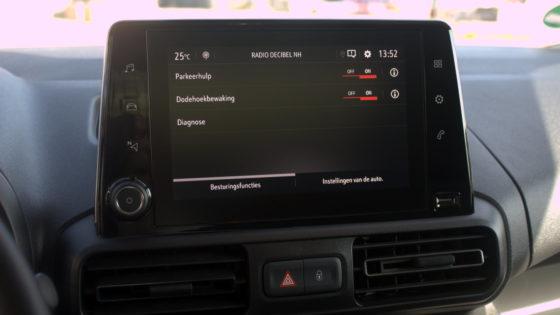 De nieuwe Opel Combo is uitgerust met verschillende veiligheidssystemen
