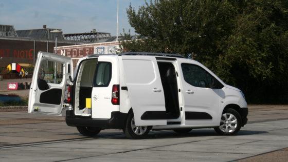 De nieuwe Opel Combo gesloten bestel