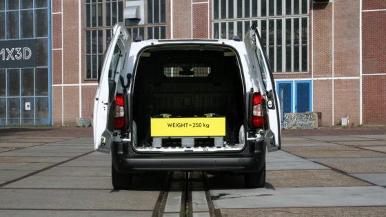 De Combo biedt tot 3,9m3 laadruimte en een laadvermogen tot 1.000 kg